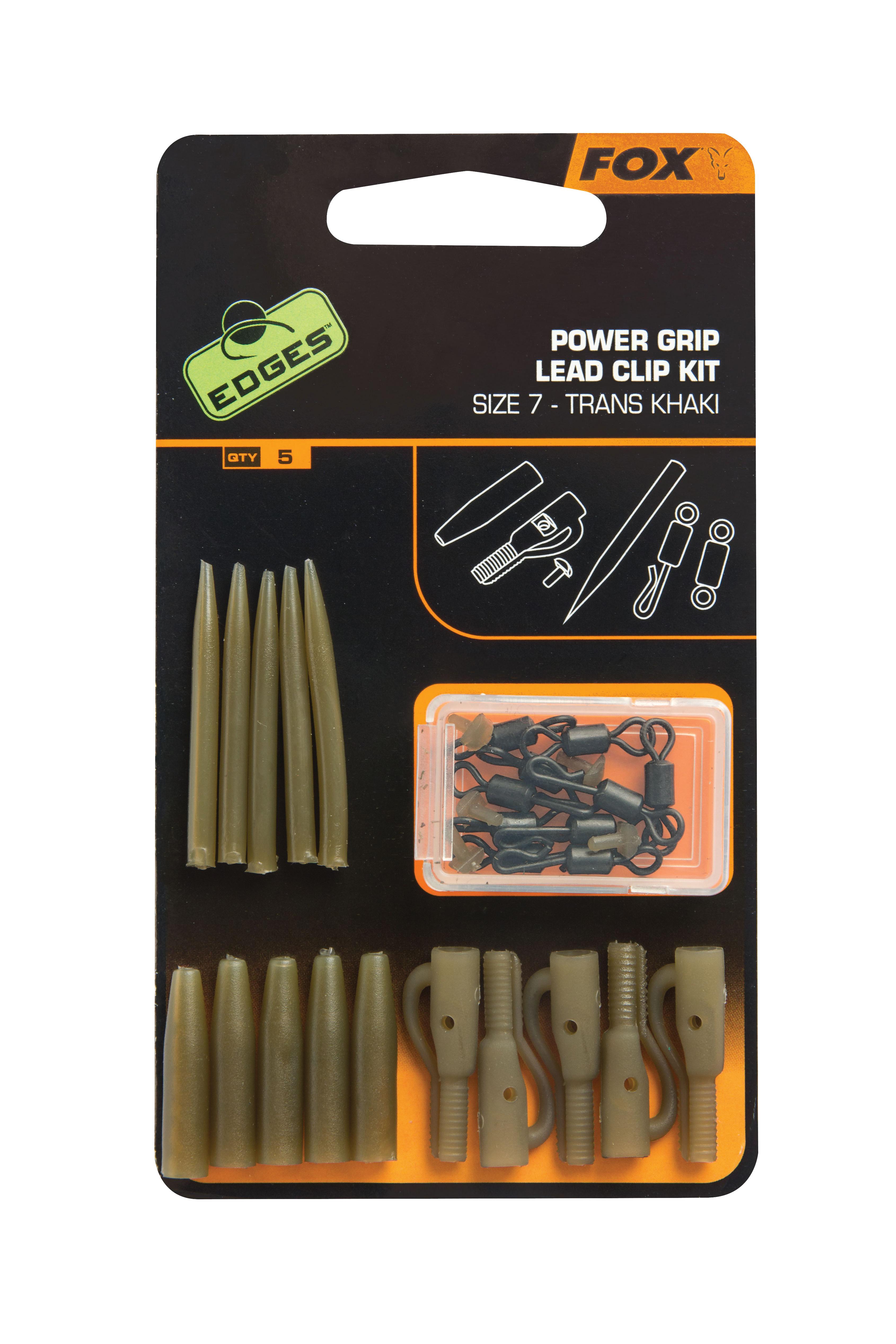 Fox Power Grip Leadclip Kit Št: 7