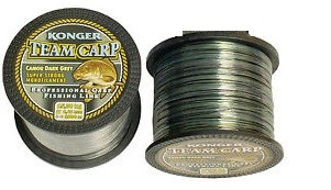 Najlon Konger Team Carp Camou Dark Grey 0,30-0,35mm 1000m