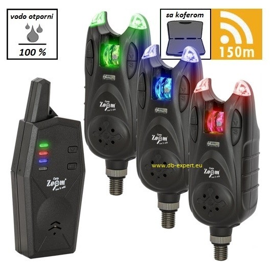 Signalizatorji Carp Zoom Express K-280 3+1