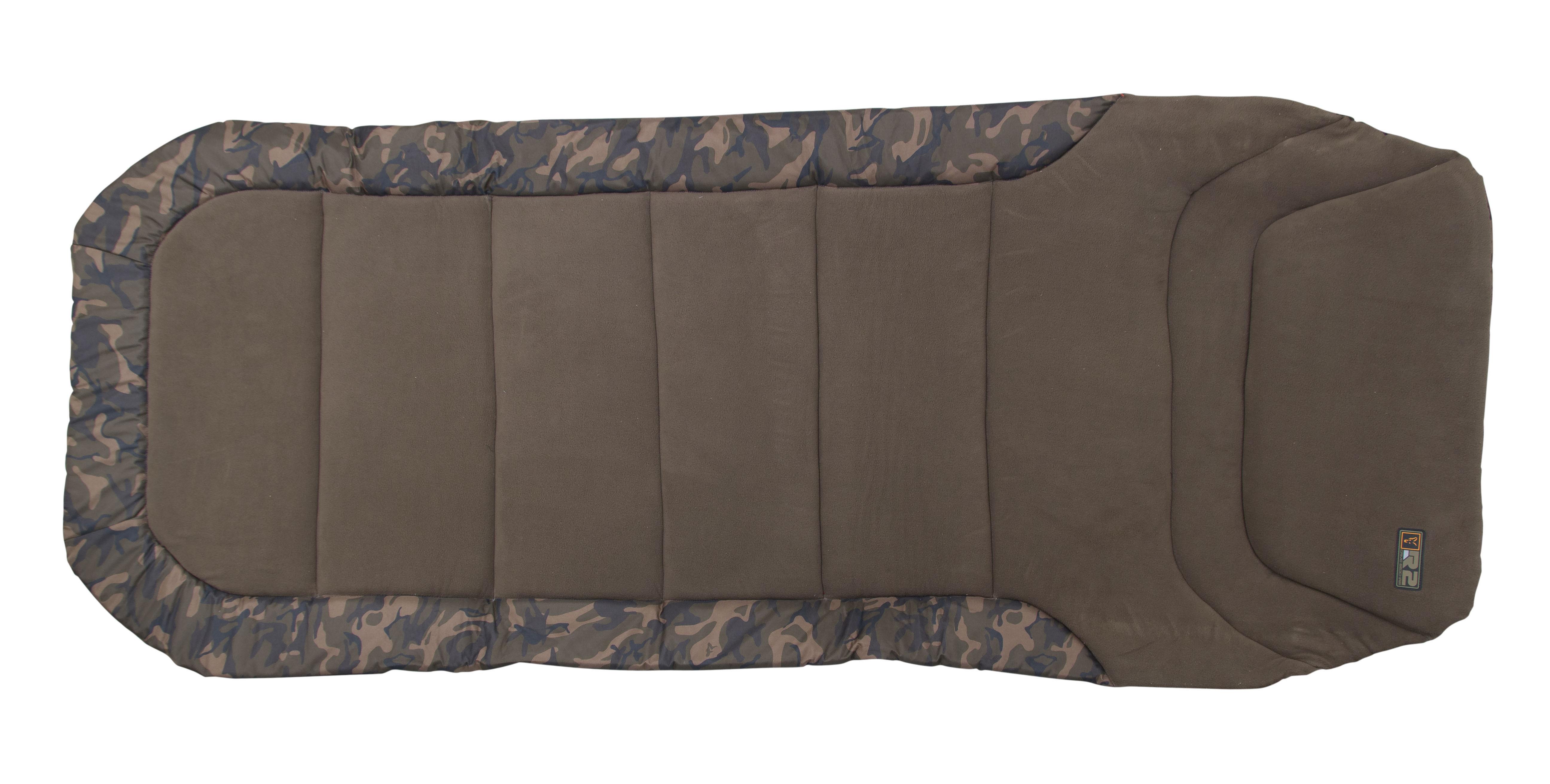 Kraparski ležalnik Fox R1 Camo Bedchair