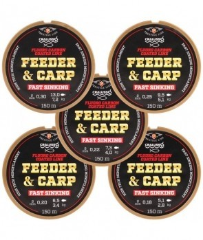 Najlon Cralusso Feeder and Carp F.C. 0,22 - 0,30mm 150m
