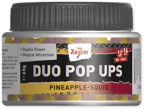 Bojli Duo Pop Ups Carp Zoom 12&16mm 65g- Fish-Halibut