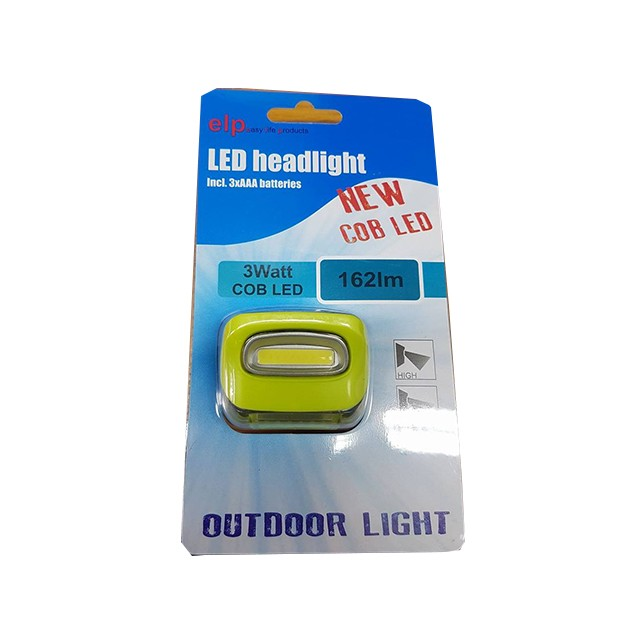 Naglavna svetilka ELP Outdoor Light 3W COB Led 162lm