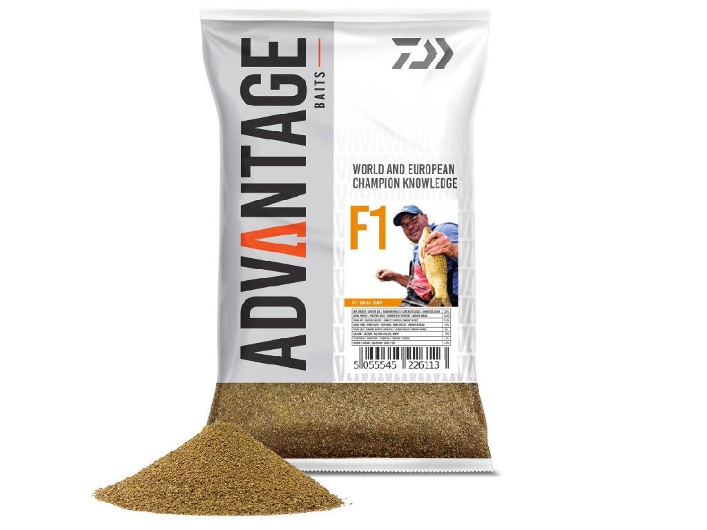 Hrana Daiwa Advantage Baits F1 Groundbait 1kg