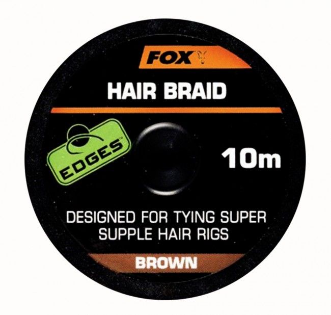 Vrvica Fox Hair Braid 10m- brown