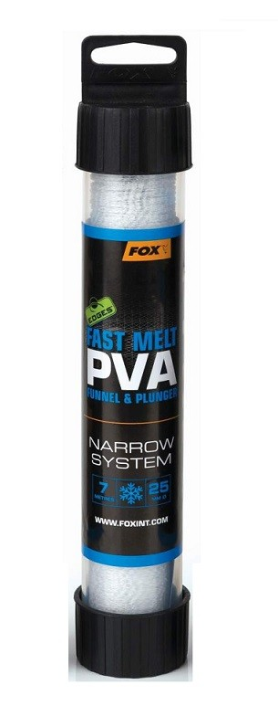 Pva Tuba Fox Fast Melt Narrow System 25mm 7m