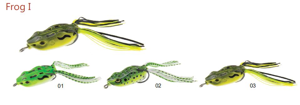 Žaba Mistrall Frog I 5cm 9g- izbira