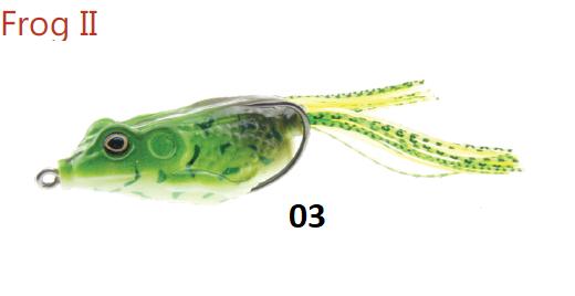 Žaba Mistrall Frog II 6cm 12,5g- 03