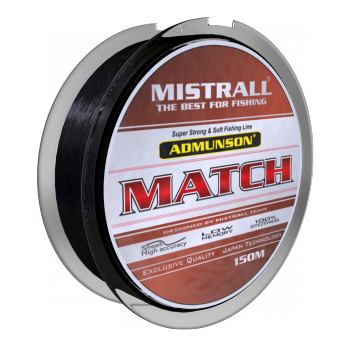 Najlon Mistrall Admunson Match 0,12-0,25mm 150m