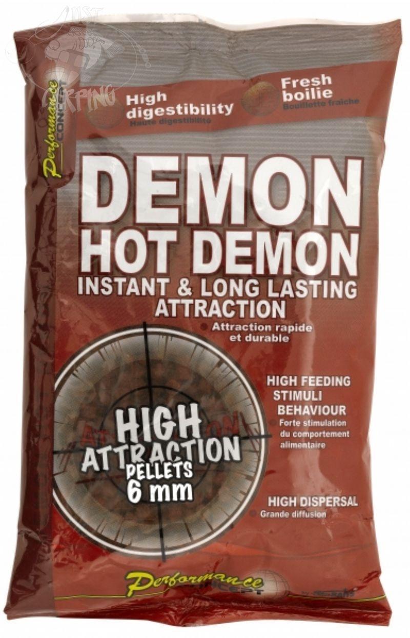 Peleti Starbaits Hot Demon 6mm 700g