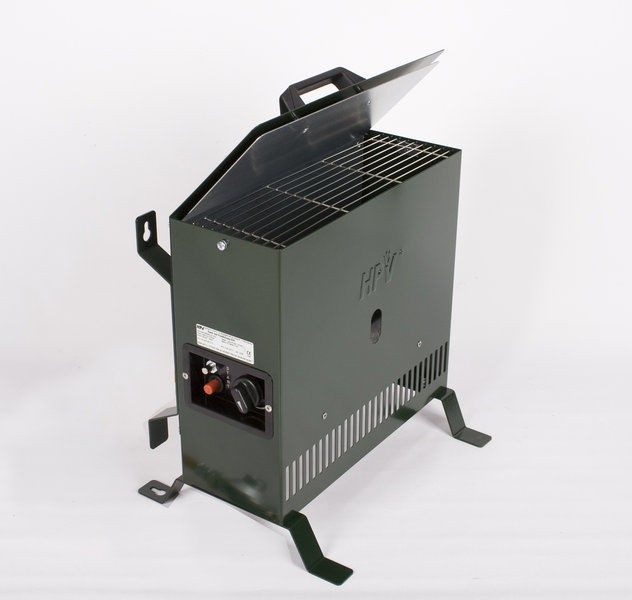 Pečka HPV 2 kW Gazcamp- green