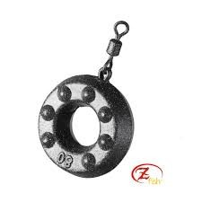 Svinec Zfish Ring 80-100g