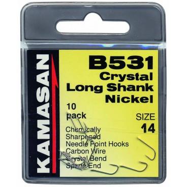 Trnki Kamasan B531 Crystal Long Shank Št:8-14 /10kom