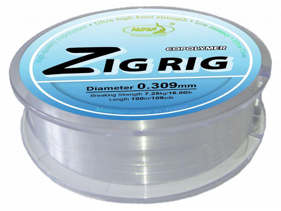 Najlon Katran Zig Rig 0,309mm 100m