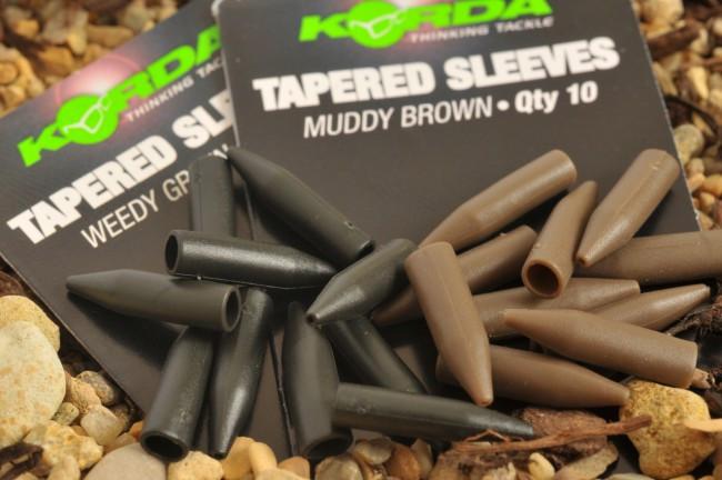 Korda Tapered Sleeves- weedy green