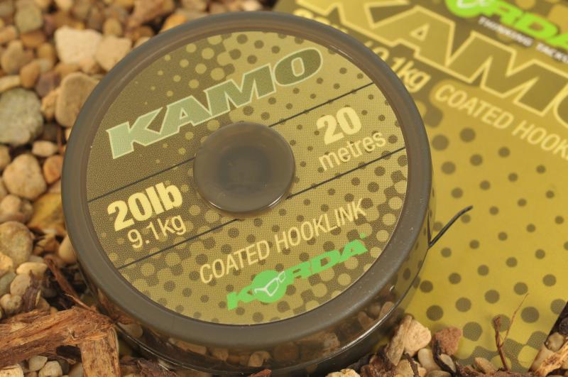 Vrvica Korda Kamo Coated Hooklink 20-30LB 20m