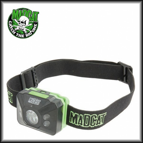 Naglavna svetilka Madcat Sensor Headlamp
