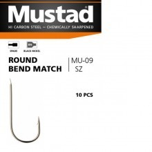 Trnki Mustad Round Bend Match Št: 10
