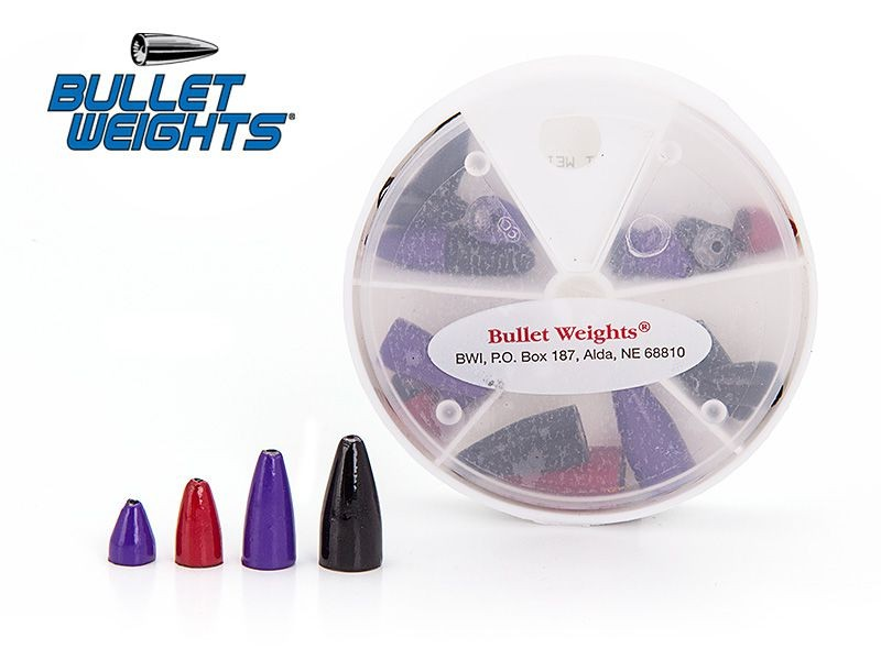 Svinci Bullet Weights Painted 18pcs