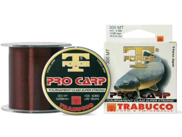 Najlon Trabucco T-Force Pro Carp 0,30-0,35mm 1000m
