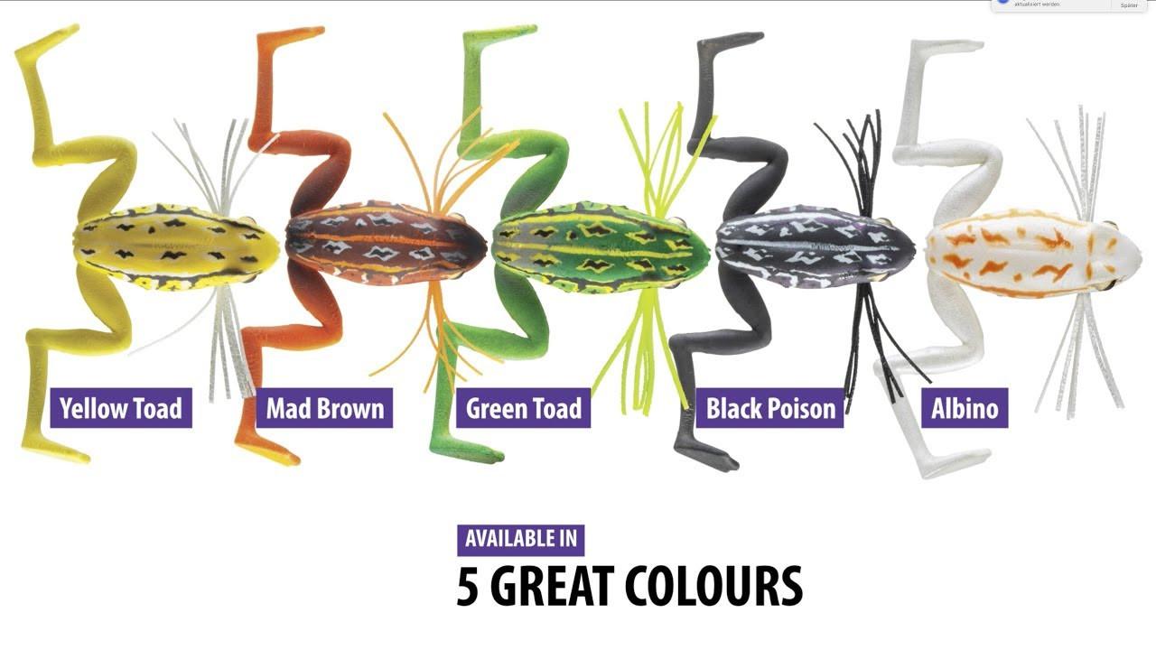 Žaba Daiwa Prorex Micro Frog 3,5cm 3g- izbira