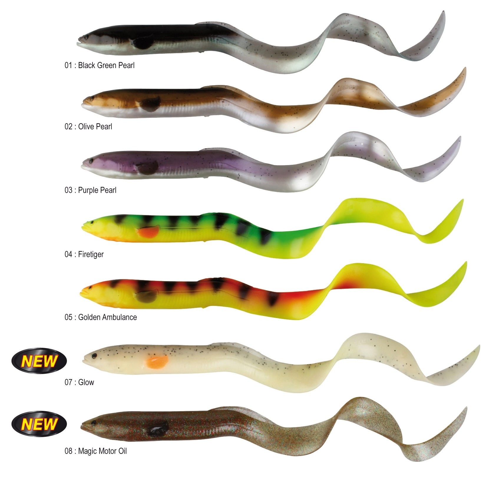 Savage Gear Real Eel LB 15cm 12+4g/ 3+1pcs