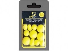 Pop Up Pena Carp Spirit Tac-Tic Foam Baits- yellow