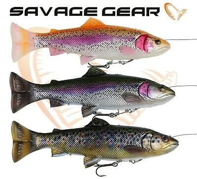 Vaba Savage Gear 4D Line Thru Pulse Tail Trout 16cm 51g