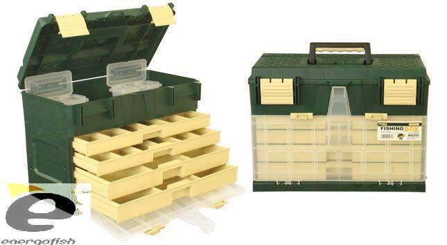Kovček Energofish Fishing Box Work´N Stroke 1070