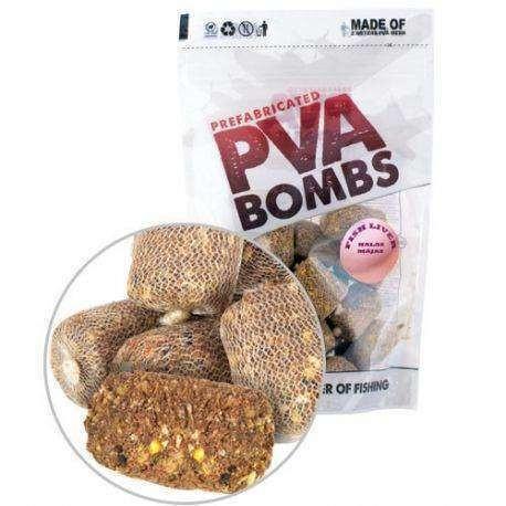 Benzar Mix Pva Bombs B52 Fish - Liver