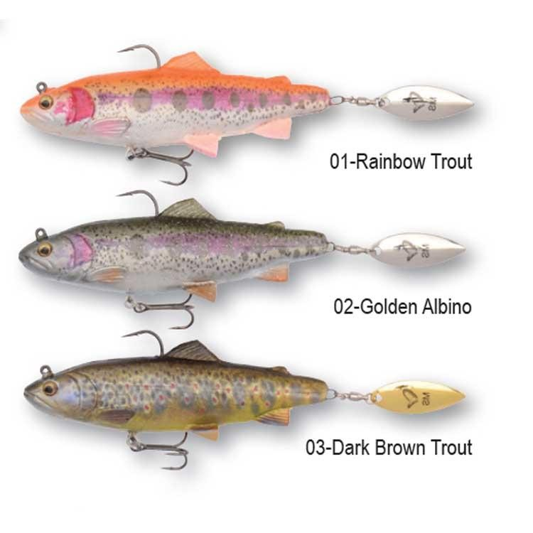 Vaba Savage Gear 4D Trout Spin Shad 11cm 40g- izbira