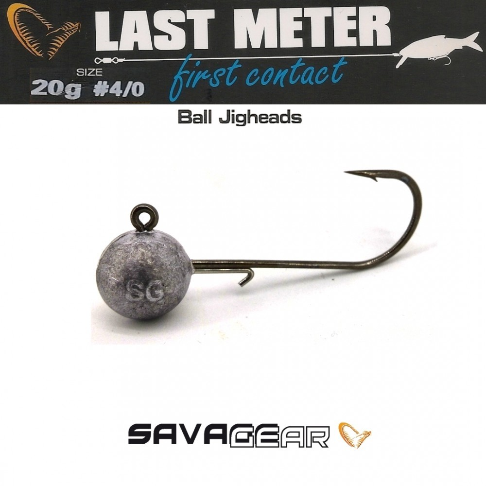 Jig glave Savage Gear Ball Jigheads 1/0-6/0 7,5-20g
