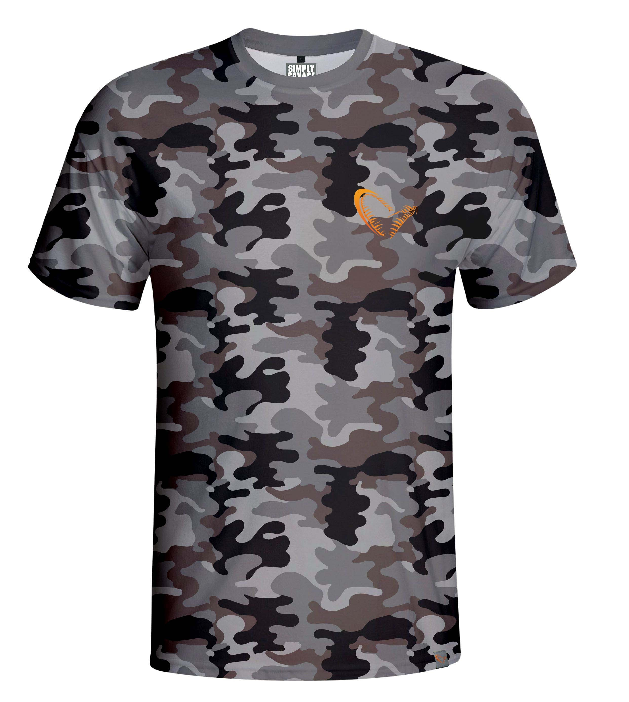 Majica Savage Gear Simply Savage Camo T-Shirt M-XL