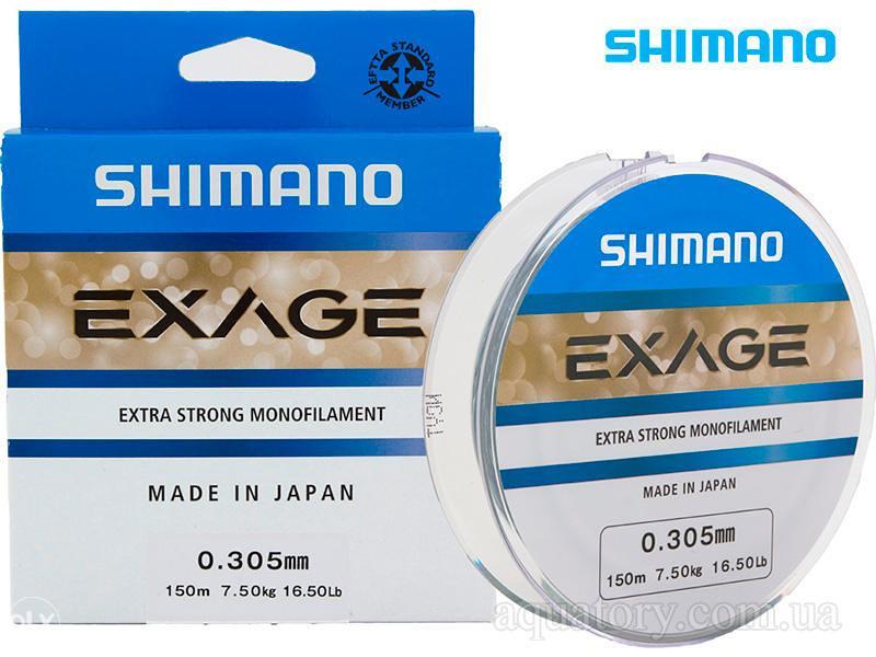 Najlon Shimano Exage 0,14-0,30mm 150m