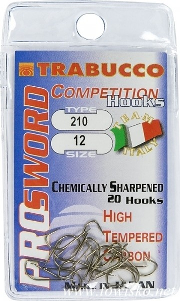 Trnki Trabucco Competition Pro Sword 210 št:6-18 /20kom