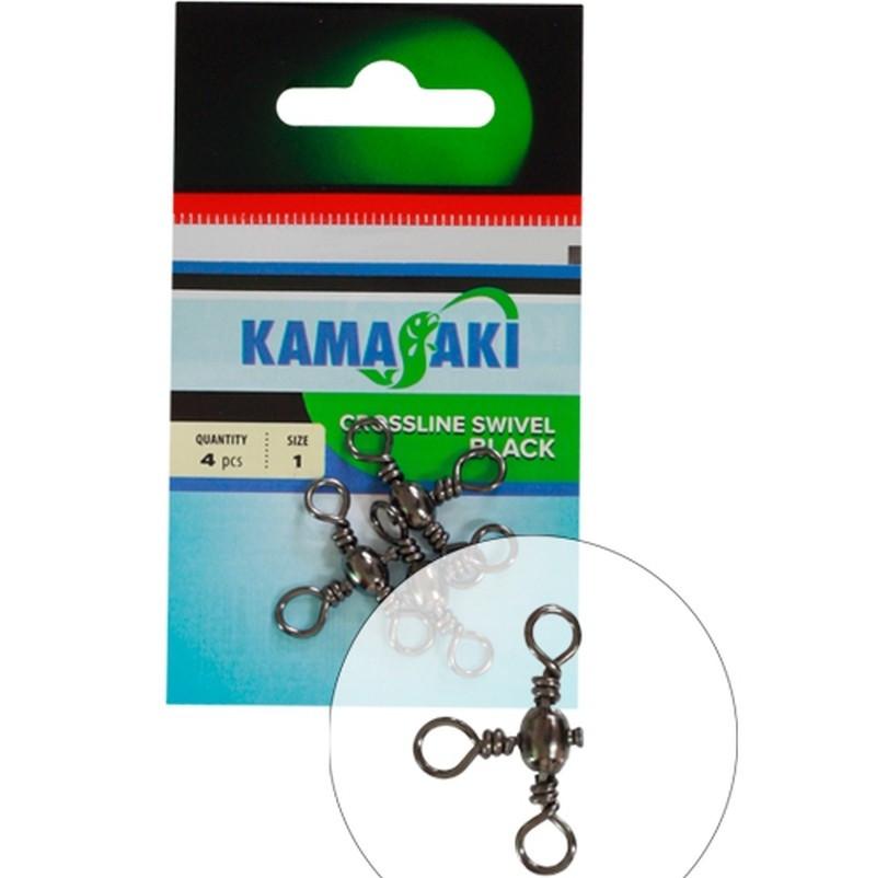 Vrtljivke Energofish Kamasaki Crossline Swivel 2-6