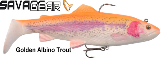 Vaba Savage Gear 4D Trout Ratlle Shad 12,5cm 35g-golden albino