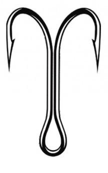 Dvojčki Mistrall 42205 brown Št: 4-1/0 /10pcs