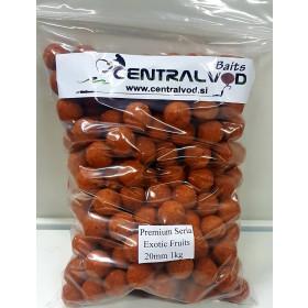 Bojli Centralvod Baits Premium Seria Exotic Fruits 20mm 1kg