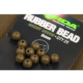 Korda Rubber Bead 4mm- weedy green
