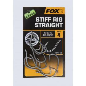 Trnki Fox Stiff Rig Straight Št: 6-8