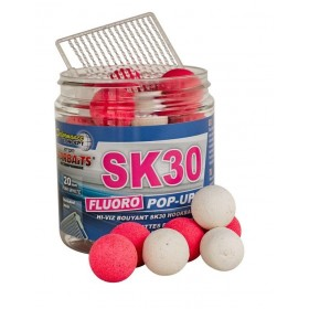 Fluoro Pop Up Starbaits SK30 14mm 80g