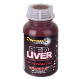 Dip Attractor Starbaits Red Liver 200ml