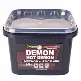 Hrana Starbaits Hot Demon Method&Stick Mix 1,7kg