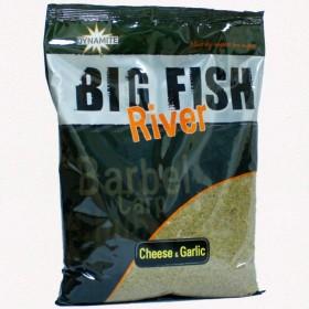 Hrana Dynamite Baits Big Fish River Cheese and Garlic 1,8kg