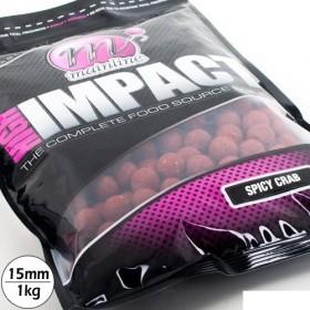 Bojli Mainline High Impact 15mm 1kg- Spicy Crab