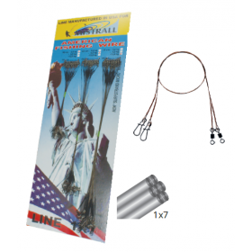 Jeklena predvrvica Mistrall American Fishing Wire 16-31cm