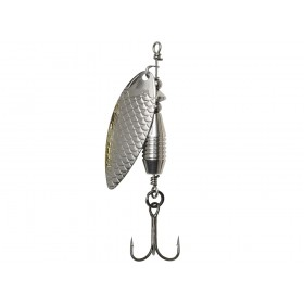 Blestivka DAM Effzett Fast Water Spinner št:3 10g- Silver