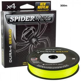Vrvica Spiderwire Dura-4 Braid Yellow 0,17-0,25mm 300m