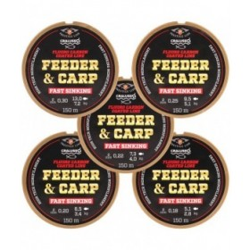 Najlon Cralusso Feeder and Carp F.C. 0,22 - 0,30mm 150m